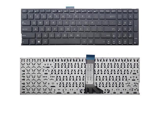 Laptop Keyboard Compatible for ASUS W51L W51LB W51LD W51LJ W51LN W519L W519LB W519LD W519LI W519LJ W519LN W519LP US Black