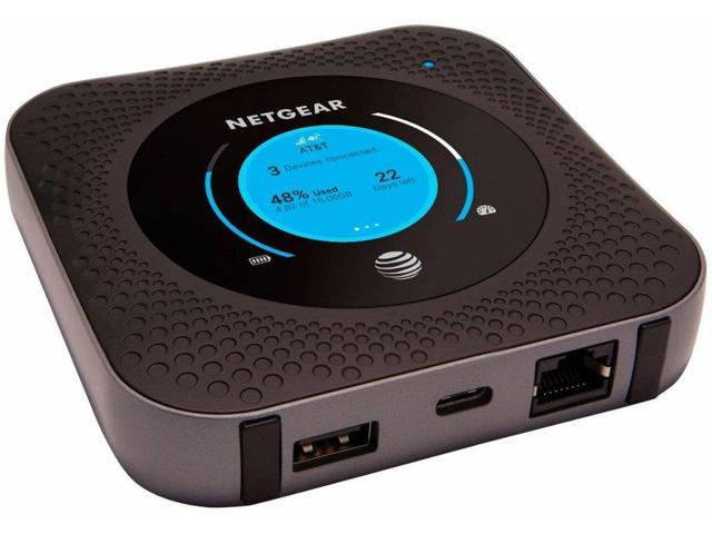 Refurbished: Netgear Nighthawk MR1100 4G LTE Mobile Hotspot Router AT&T  Unlocked - Newegg com