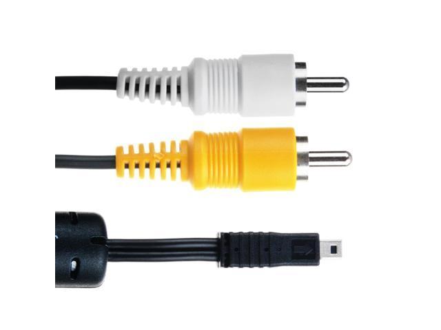 SO COOL AV A//V TV Video Cable Cord for Fujifilm Finepix Camera S1850 Real 3D W1 W3 AV255