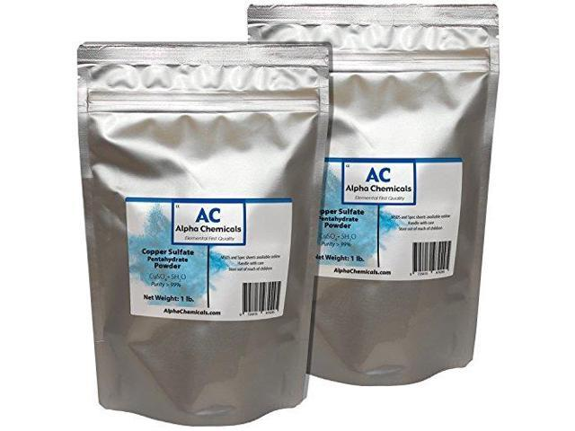 Alpha chemicals copper sulfate pentahydrate powder 2 - Copper sulfate pentahydrate swimming pool ...