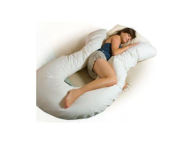 Total Body Support Pillow.Comfort U Total Body Support Pillow Full Size Cu9000 Moonlight Slumber