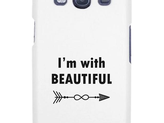 Funny Wedding Gifts.I M With Beautiful White Galaxy S3 Case Funny Wedding Gifts For Him Newegg Com