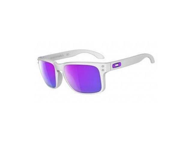 b380166c07 Oakley Holbrook Sunglasses Matte White   Violet Iridium - Newegg.com