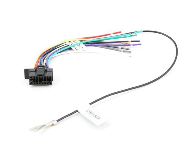 Xtenzi Radio Wire Harness For Sony Wxgt80ui Cdxgt575up Mex Rhnewegg: Sony Cdx Gt575up Wiring Diagram At Gmaili.net