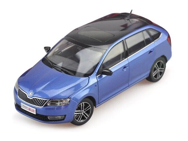 Paudi Model 1/18 Skoda RapidSpaceBack (blue) Diecast Model Car - Newegg com