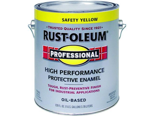 Rustoleum K7744402 High Performance Oil Based Rust Preventive Protective Enamel Paint Safety Yellow
