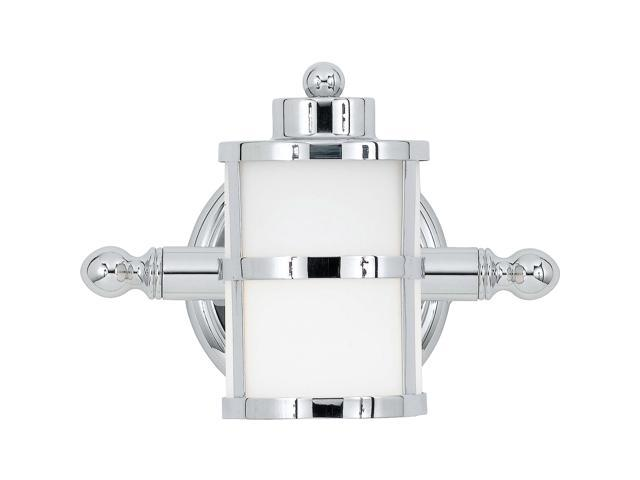 Quoizel 1 Light Tranquil Bay Bath Fixture In Polished