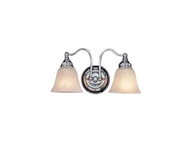 Feiss Bristol 2 Light Vanity Fixture In Chrome Vs6702 Ch