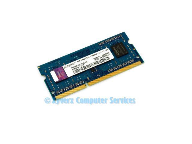 Refurbished: TSB16D3LS1KBG/4G GENUINE ORIGINAL KINGSTON LAPTOP MEMORY 4GB  PC3-12800 (CA65) - Newegg com