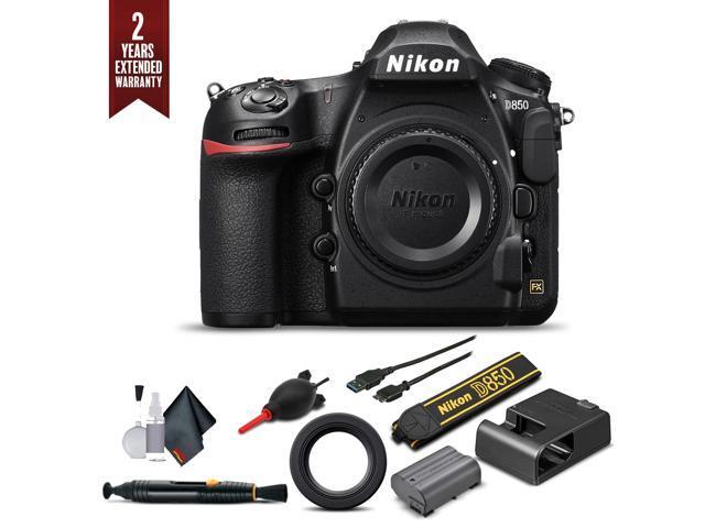 Nikon D850 Digital SLR Camera Body Only Starter Set (Intl Model) -  Newegg com
