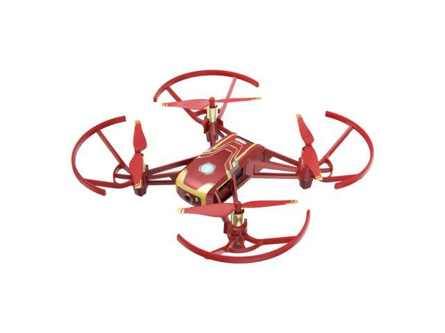 DJI Tello Iron Man Edition 720p Video Recording Drone Traditional Video  Camera by Ryze - Newegg com