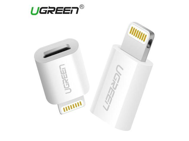 buy popular bb7cf 7cf4f Ugreen Micro USB Adapter to Lightning for iPhone Cable Converter USB  Charger&Sync Data Cable for iPhone 6 5 iPad Air iPod iOS 10 - Newegg.com