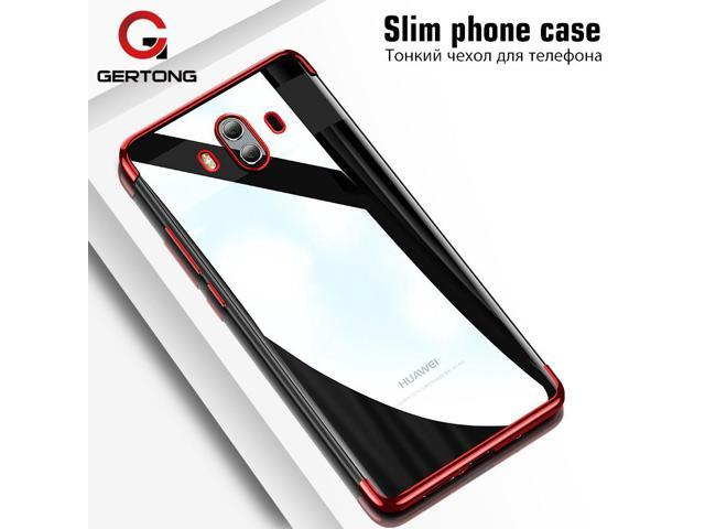 big sale 10d9b af736 GerTong Slim Silicone TPU Case For Huawei Honor 7X 9 V9 P10 Plus Mate 10  Pro Plating Phone Case For Huawei Mate 10 Lite Armor - Newegg.com