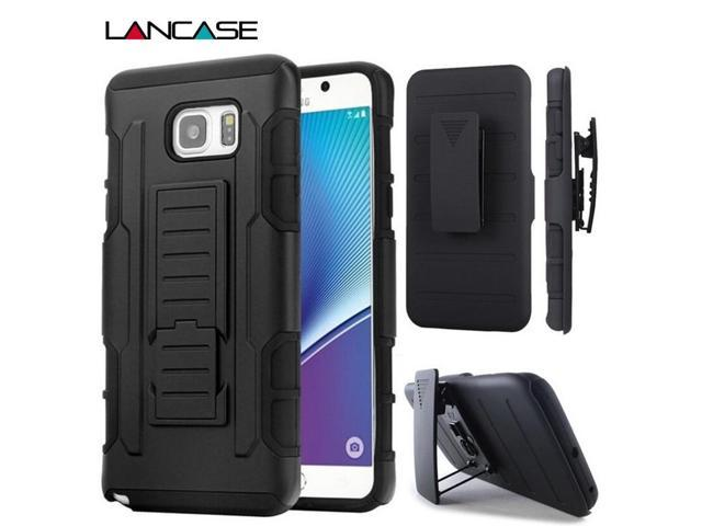 detailed look 6ce53 06bf0 For Samsung Galaxy S7 Case 3 in 1 Stand Belt Clip Holster Cover For Samsung  Galaxy S6 Edge Case S7 Edge S5 Silicone Phone Cases - Newegg.ca