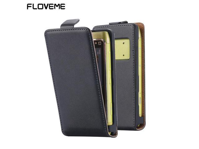 new arrival 9dfbb 8454f Floveme Original Brand 100% Cowhide Genuine Leather Cases For Nokia N8  Cover Vertical Flip Cell Phone Cases Coque Fundas Capa - Newegg.ca