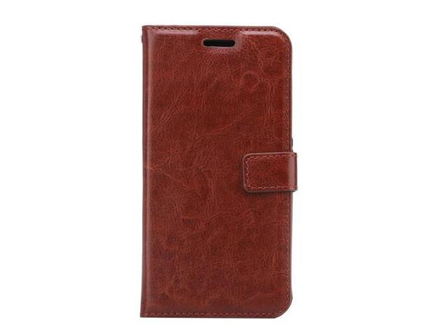 outlet store 48606 54c42 Wallet Leather Case Cover for ZTE AXON 7 With Card Slots And Photo Frame  Stand Flip Phone Case for ZTE AXON 7(brown) - Newegg.ca