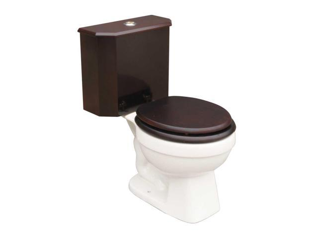 Super Round Toilet With Cherry Wood Tank And White China Bowl Renovators Supply Newegg Com Andrewgaddart Wooden Chair Designs For Living Room Andrewgaddartcom