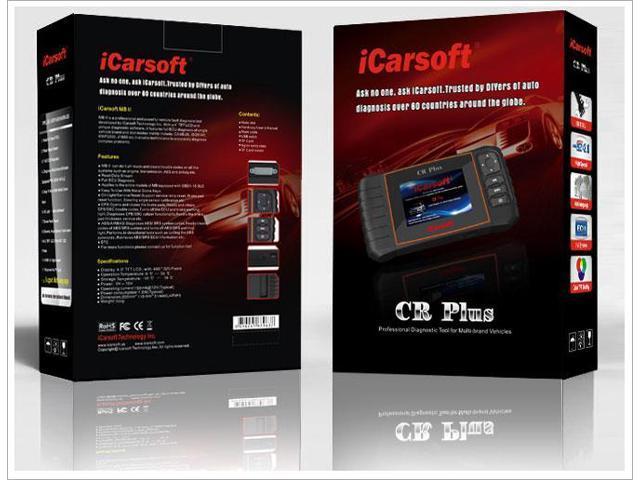 ICARSOFT CR PLUS PROFESSIONAL OBD2 CAR DIAGNOSTIC CODE SCANNER TOOL 2ND GEN