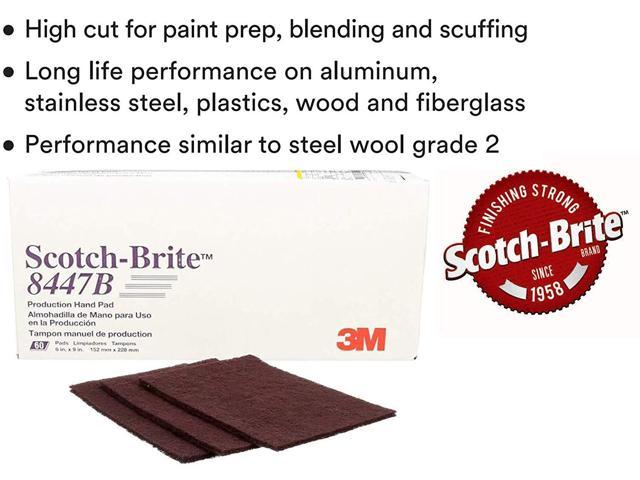 Scotch-Brite(TM) Hand Pad 8447, 9