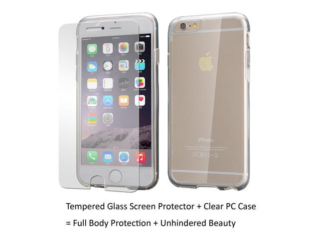 quality design 16707 a446a Apple iPhone 6 Case iPhone 6S Case, Scratch Resistant, Clambo Clear iPhone  6 Case Clear iPhone 6S Case for iPhone 6 6S + Tempered Glass Screen ...