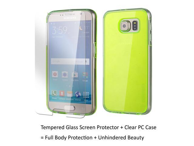 the latest 1f2aa 66099 Samsung Galaxy S6 Case Galaxy S6 Case Clear, Anti Scratch Resistant, Clambo  Clear Case for Samsung Galaxy S6 Bumper Case + Tempered Glass Screen ...