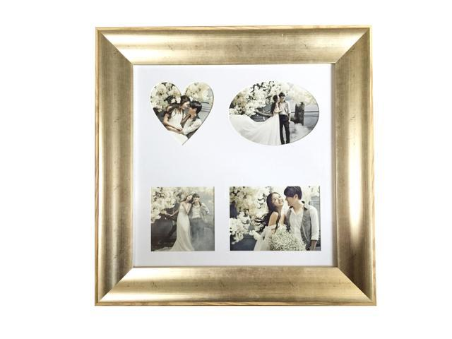 Lilian PC antique gold Collage Picture Frame 16x16Inch - Displays ...