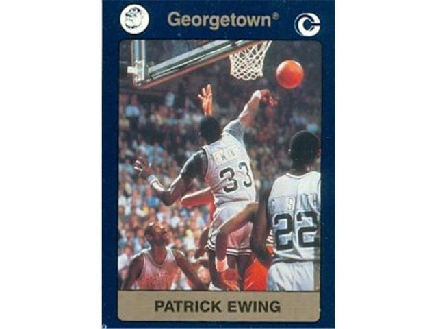 1991 Collegiate Collection #49 Patrick Ewing basketball card Georgetown