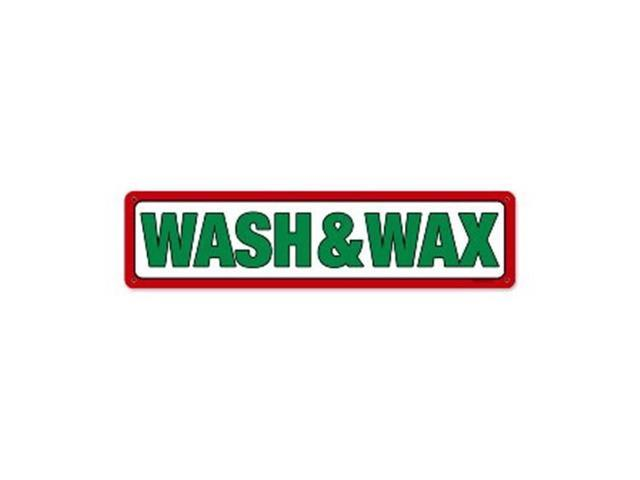 Past Time Signs RPC226 Texaco Wash And Wax Automotive Metal Sign -  Newegg com