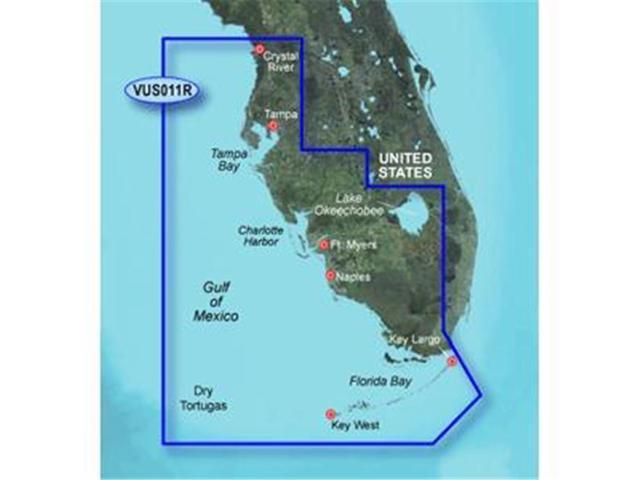 Map Southwest Florida.Garmin Bluechart G2 Vision Southwest Florida Digital Map Newegg Ca