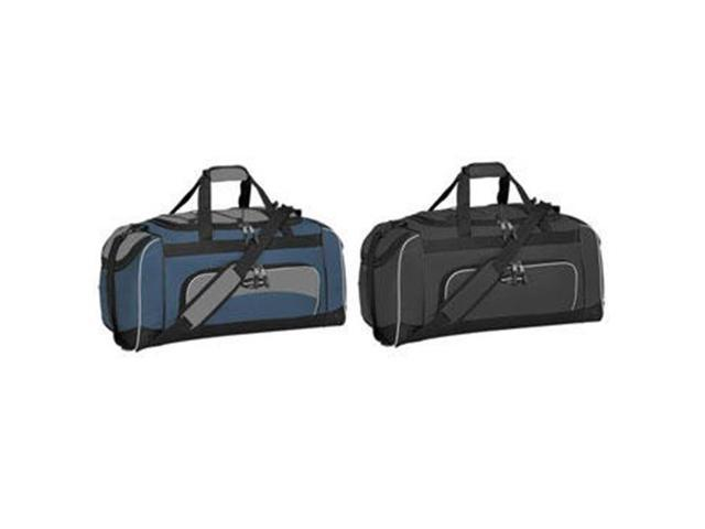 ed6ad44249e2 Travelers Club Luggage 57024-410 Adventurer Duffel Collection- 24 Sport  Duffel with Wet Shoe