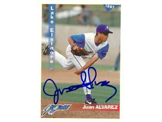 Autograph Warehouse 89592 Juan Alvarez Autographed Baseball Card Minor League 1997 Grandstand Rookie No 24 Neweggcom