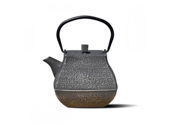 Old Dutch 1062sb 44 Oz Meiyo Teapot Silver Black Cast