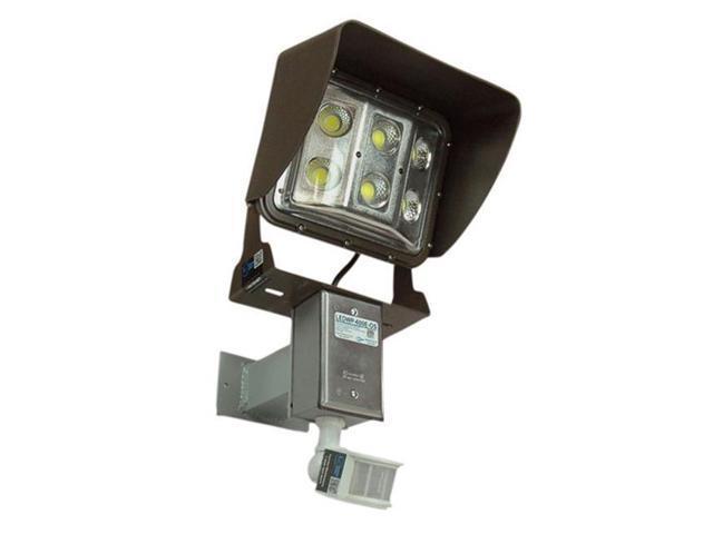 Larson Electronics LEDWP-600E-OS 60 watt Low Profile LED Wall Pack Light  with Glare Shield & Motion Sensor, U Bracket Mount - Newegg com