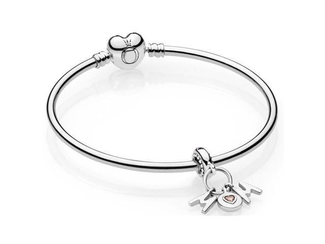 a1eca264201 Pandora B800871-19 Perfect Mom Bangle Gift Set Pink & Liliac Crystals -  Newegg.com