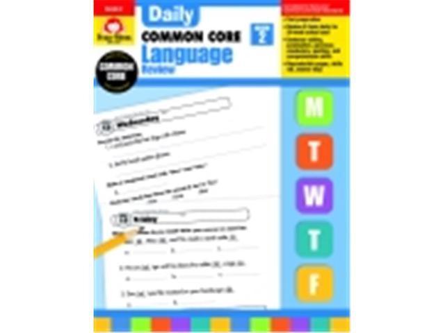 Evan-Moor Daily Language Review Book, Grade 2 - Newegg com