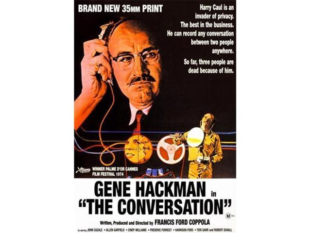 Pop Culture Graphics MOV299110 The Conversation Movie Poster, 11 x ...