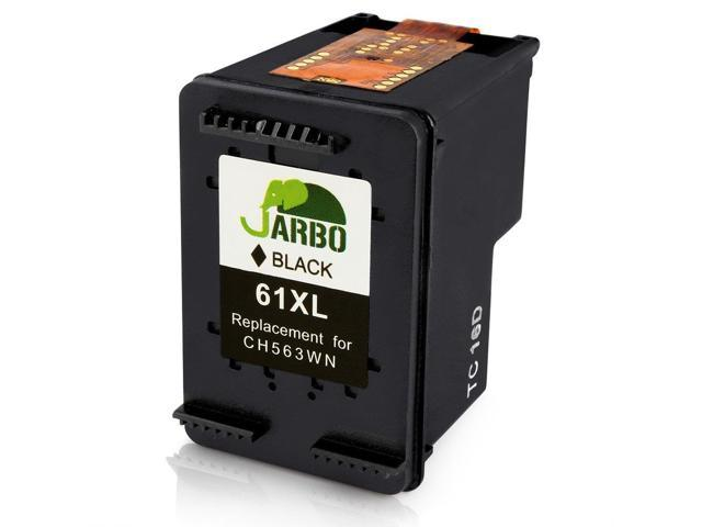 JARBO Replacement HP 61XL Black Ink Cartridge with Ink Level Display Use in  HP Envy 4500 5530 5534 Deskjet 1000 1512 2540 3050 3510 2510 Officejet