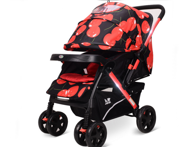 Ultraportable Baby Stroller Can Sit Or Lie Reversible Pram Buggies Baby Trend Sit N Stand Ultra Stroller Tropic Newegg Com