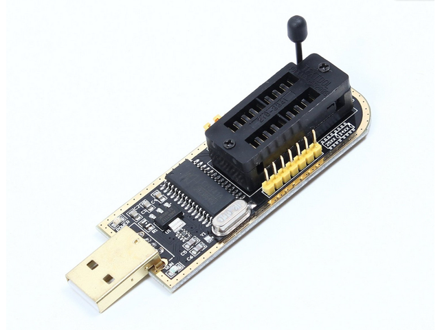 CH341A USB Programmer 24 25 Series Chip BIOS Flash Burner for PC  Motherboard Router LCD Monitor - Newegg com