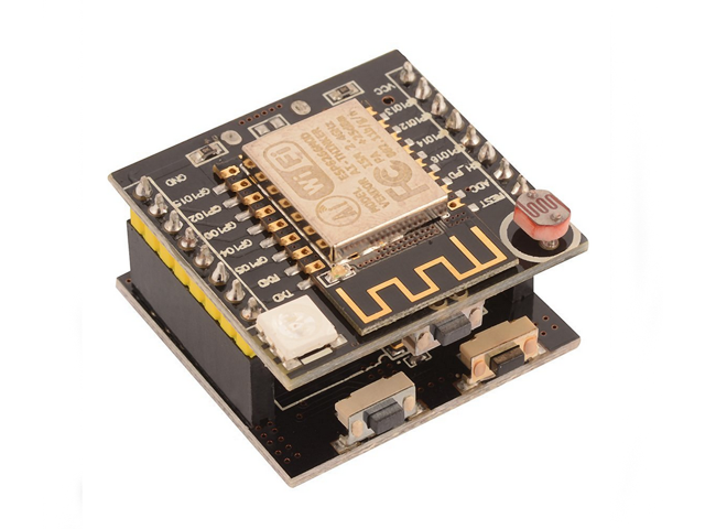 ESP8266 serial WIFI Witty Cloud ESP-12F Module Development Board + CH340  Micro-USB interface Motherboard TE567 - Newegg ca