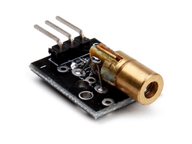 650nm Laser Sensor Module 6mm 5v 5mw Red Laser Dot Diode