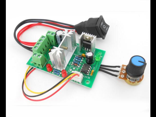 PWM DC Governor 6-30V PLC 0-5V control 6V 12V 24V motor driver module 180W  Speed range 0%-100% Motor Speed Controller Switch Governor Board -