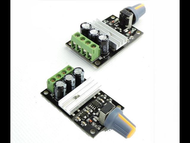 PWM DC motor speed governor module maximum current 3A The output voltage DC  6V~28V speed control switch - Newegg com