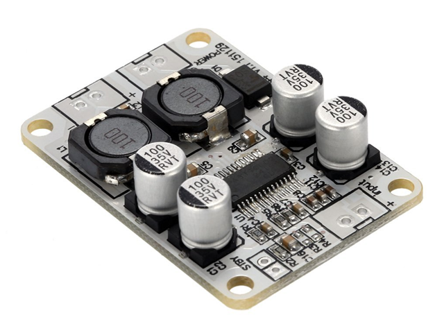 TPA3110 PBTL Mono Digital Amplifier Board Module 1*30W Power AMP DC 8-26V -  Newegg com