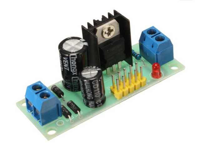 7805 Circuit This Regulator Circuit Will Act As Supply For