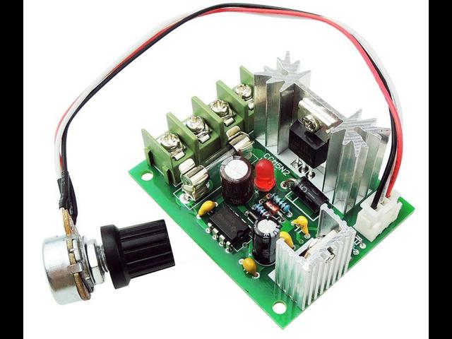 DC Motor Over Current Load Protection Switch Module Governor 6V 12V 24V 10A PWM