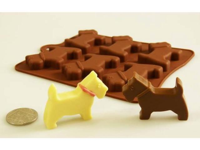 Scottie Dog 3D Chocolate Mould