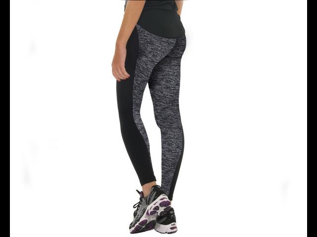 Women Sports Gym Yoga Workout High Waist Running Pants Fitness Elastic Leggings (Size: XL