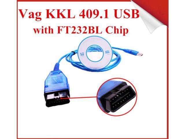 VAG409 1 USB Interface Cable KKL VAG 409 1 With FT232BL Chip - Newegg com