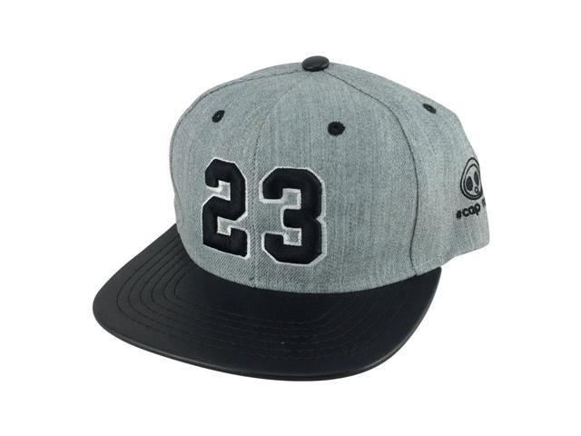 80645fde8c542b ... reduced player jersey number 23 2tone snapback hat cap x air jordan  lebron heather 79560 d3678